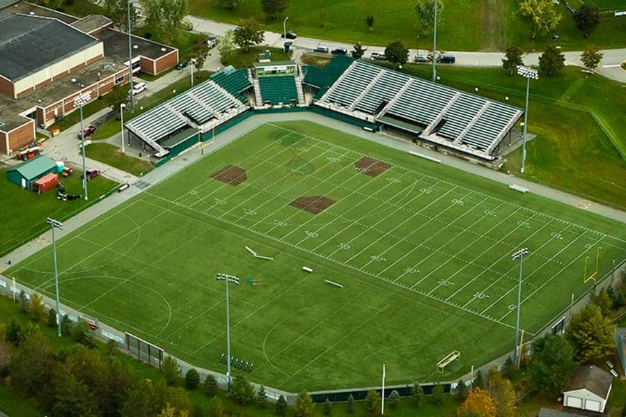 Husson University Campus Map.Husson University John P Boucher Field Brock Usa Shock Pads