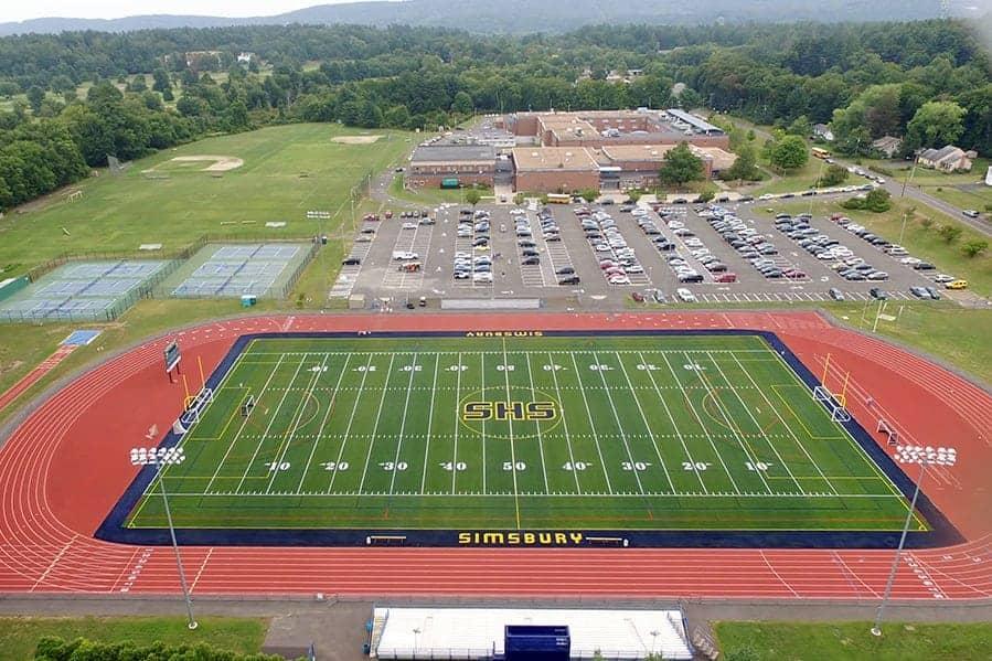 Simsbury High School Brock Usa Shock Pads For