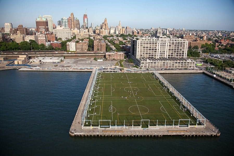 Brooklyn Bridge Park Authority Pier 5 Brock Usa