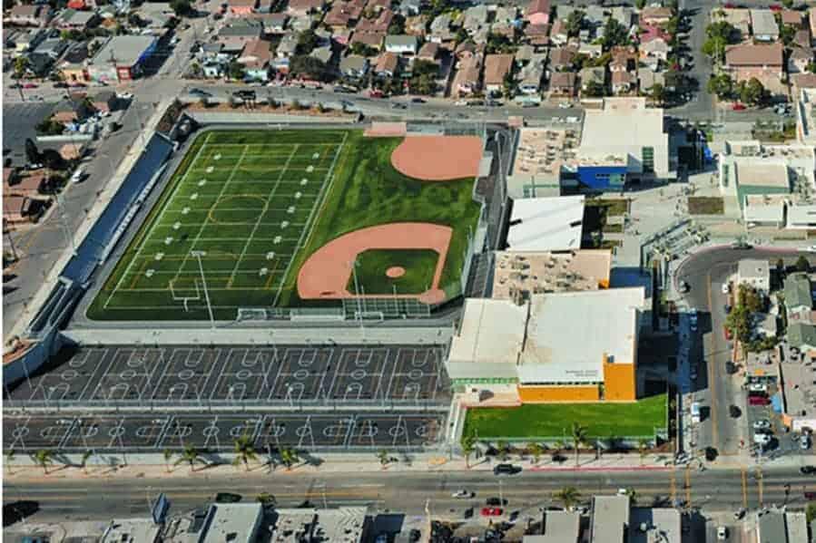 East Los Angeles High School 2 Brock Usa Shock Pads