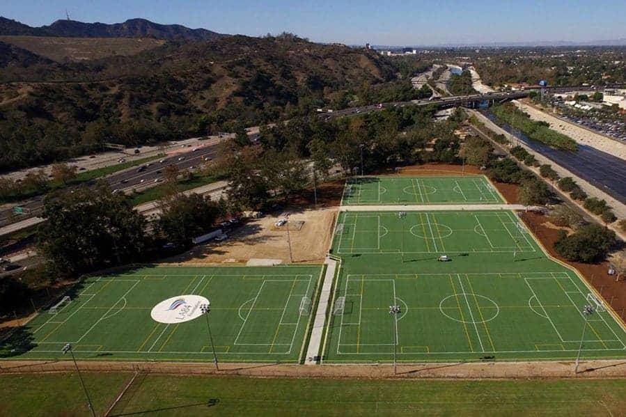 Griffith Park John Ferraro Athletic Fields Brock Usa