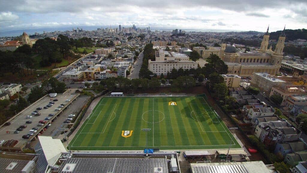 University Of San Francisco Negoesco Stadium Brock Usa