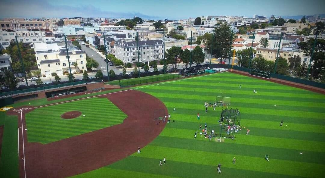 """USF Benedetti Baseball Fields """"True As The Ball Could Roll"""""""