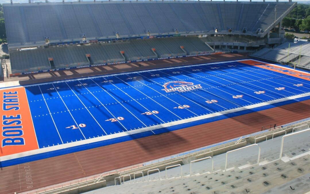 Boise State replaces iconic blue turf field for the Second time over Brock