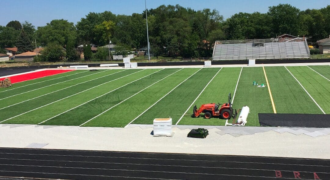 """This means everything to the community."""" – Bremen School District 228 Installs Four Brock Fields"""