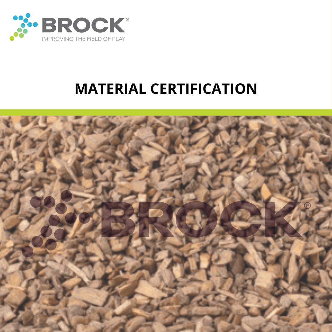 Brock's BrockFill Material Certification