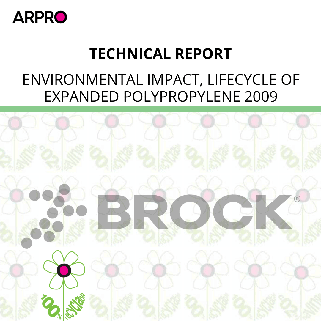 Environmental Impact, Lifecycle of Expanded Polypropylene 2009
