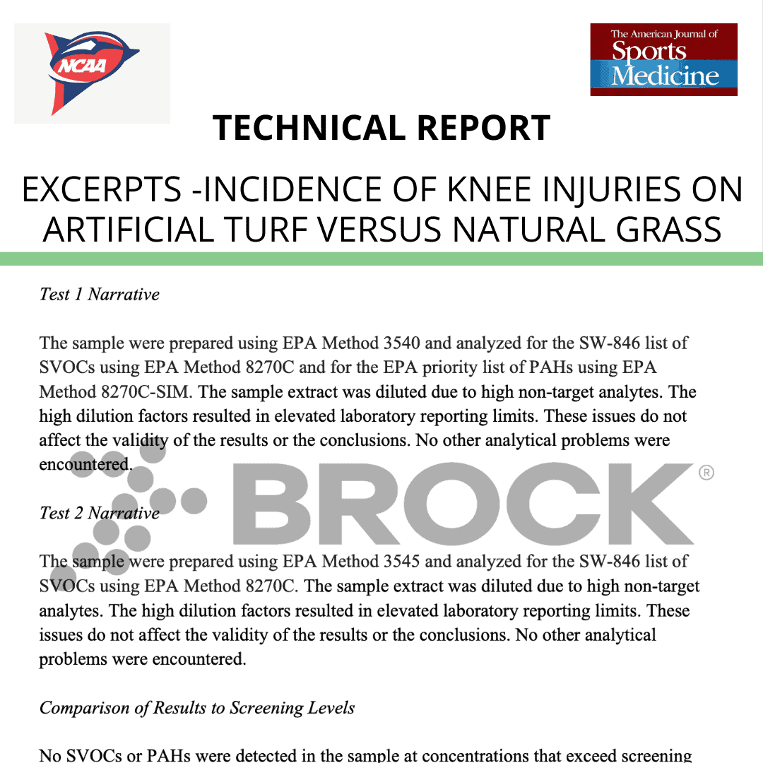 EXCERPTS – AJSM (NCAA)-Incidence of Knee Injuries on Artificial Turf Versus Natural Grass in NCAA football 2019