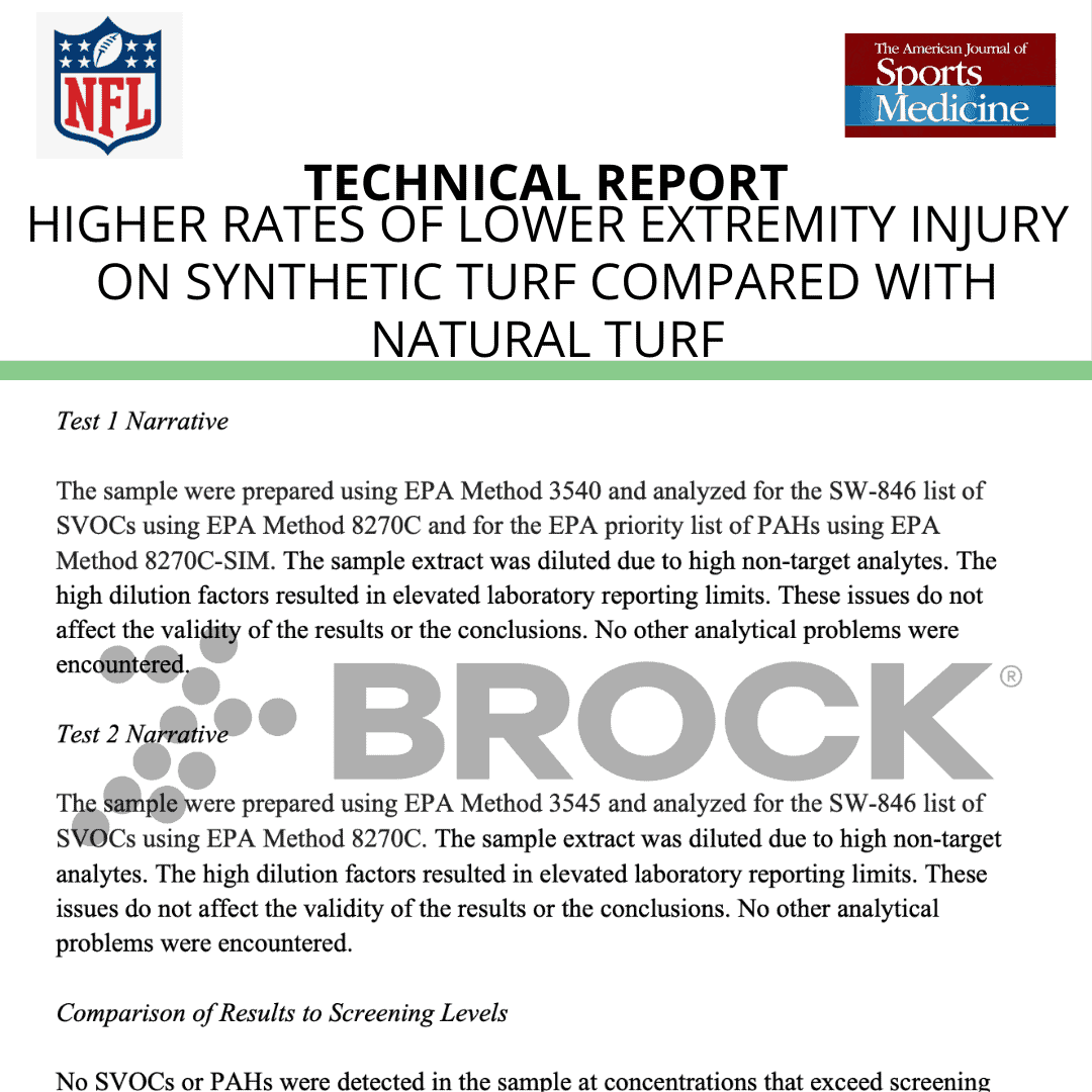 AJSM (NFL) Higher Rates of Lower Extremity Injury on Synthetic Turf Compared With Natural Turf Among NFL Athletes 2019