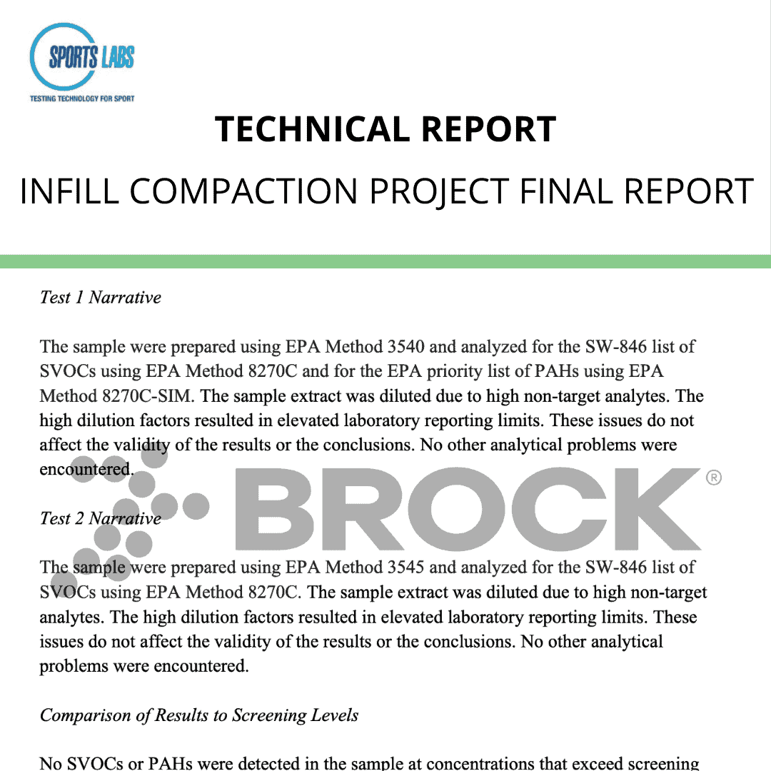Infill Compaction Project Final Report